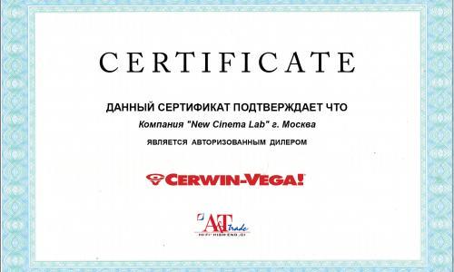 авторизованный дилер Cerwin-Vega