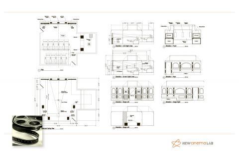Вертикальная проекция домашнего кинотеатра